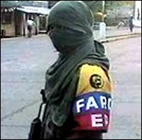 A Farc rebel
