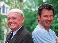 Mark McCormack and Nick Faldo