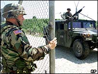 US peacekeeper in Bosnia