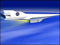 Hypersonic test plane
