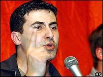 Resist candidate Dyab Abou Jahjah