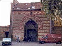 Gate of Copenhagen prison