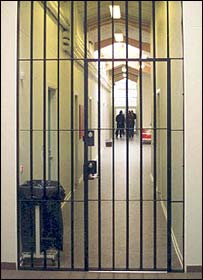 Corridor of Copenhagen prison