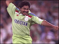 Mushtaq during the 1992 World Cup