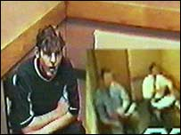Andrew on police interview tape given to the programme makers