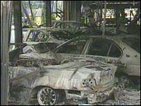 Garage in 2001