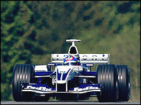 Juan Pablo Montoya in the Williams-BMW at the Austrian Grand Prix