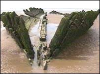 The wreck of the Nornen