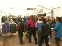 Crowd at the Devon County Show 2003