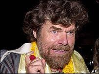 Italy's Reinhold Messner