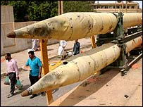 Abandoned missiles in Iraq, AP