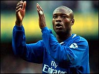 Chelsea defender William Gallas