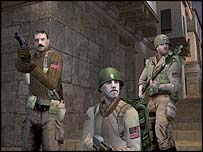 Screenshot from Return to Castle Wolfenstein, Activision