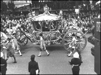 The Queen's carriage