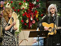 Sheryl Crow and Emmylou Harris
