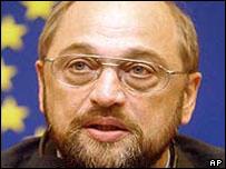 German Socialist MEP Martin Schulz