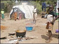 Camp in Liberia