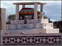 Madagascar tomb