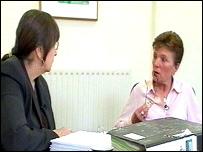 Anita Bromley and Pat Shirley