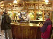 Fewer pubs are retaining their original features