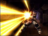 Screenshot from Unreal Tournament, Atari