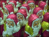 Christmas tree decorations, BBC