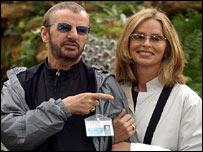 Ringo Starr and wife Barbara Bach