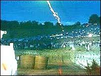 Petrol bombs thrown in minor disturbances