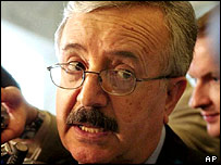 Naji Sabri - Iraqi Foreign Minister under Saddam Hussein