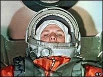 Yuri Gagarin, AP