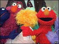 Muppets from Sesame Street
