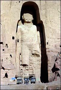 Buddha statue at Bamiyan