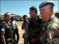 French observers in Bunia