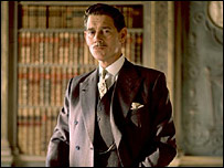 Anthony Andrews in the BBC's Love in a Cold Climate, 2001
