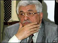 Palestinian PM Abu Mazen