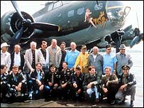 The cast of the film Memphis Belle