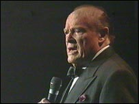 Bob Hope performing in 1994