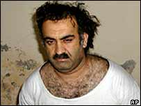 Khalid Sheikh Mohammed, the alleged mastermind behind the WTC attacks, arrested in Pakistan in March