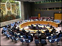 UN Security Council in session (archive)