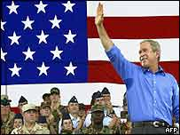 US President George W. Bush