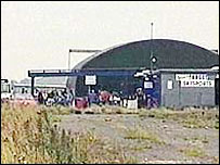 Hibaldstow Airfield near Brigg