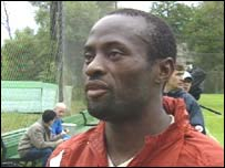 Cameroonian defender Jerry Christian Tschuisse