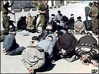 Palestinian detainees