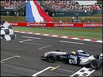 Ralf Schumacher wins the French Grand Prix