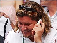 Peter Lundgren, coach of Roger Federer