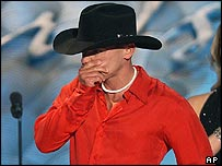 Kenny Chesney at the Academy of Country Music Awards