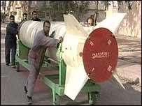 Iraqi al-Samoud missile