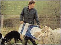 Farmer Glyn Roberts