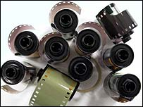 Rolls of camera film, BBC
