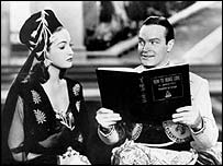 Bob Hope and Dorothy Lamour